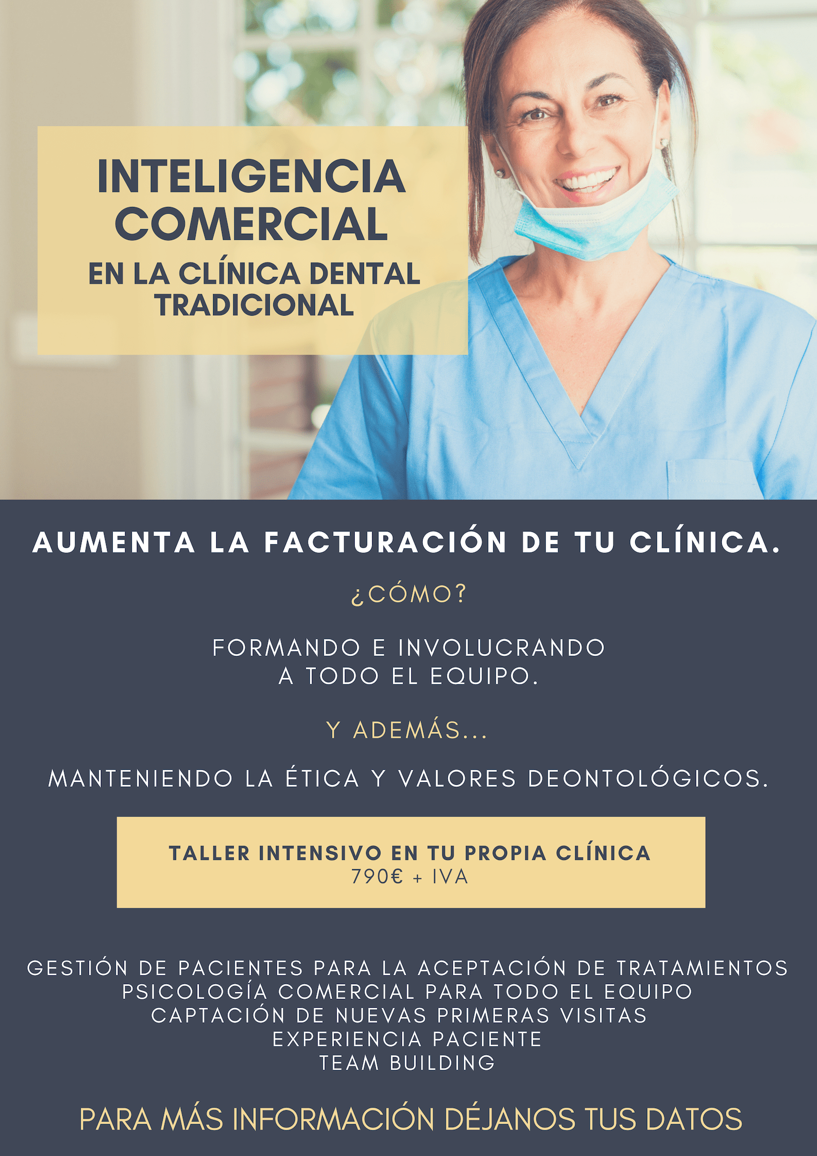 Curso inteligencia comercial clinica dental